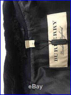 Burberry Mens Double Breasted Mink Fur Collar Coat. 56, US 46. $3250