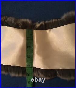Chinchilla fur Collar, Scarf, Wrap. Not MinkSableLynx. For a jacket or coat