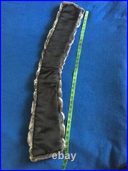 Fur Chinchilla Collar, Scarf, Wrap. Not MinkSableLynx. For a coat or jacket