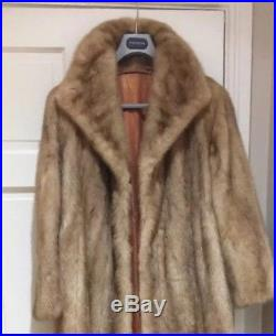 Light Pastel Mink Fur Coat