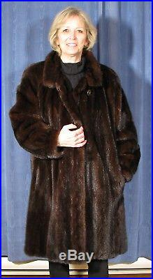 Nice (xl) Demi Buff Mink Stroller Fur Coat No Monogram