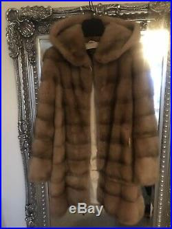 Real Mink Fur Transformers Coat Size S/M
