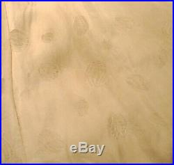 Vintage Beautiful Real Champagne Mink Fur Coat Sz Small Bust38