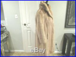 Vintage Palomino Mink Coat With Matching Hat Size Small Maybe Medium