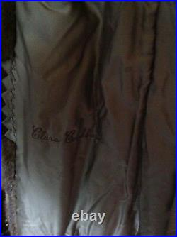 Vtg Real Mink Fur Extra Long Coat By Mayfair Canada Estimated Size Small Medium